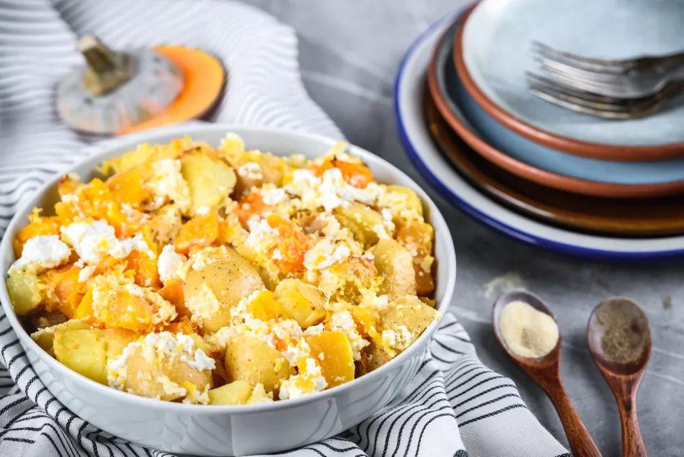 Butternut Squash and Potato Casserole