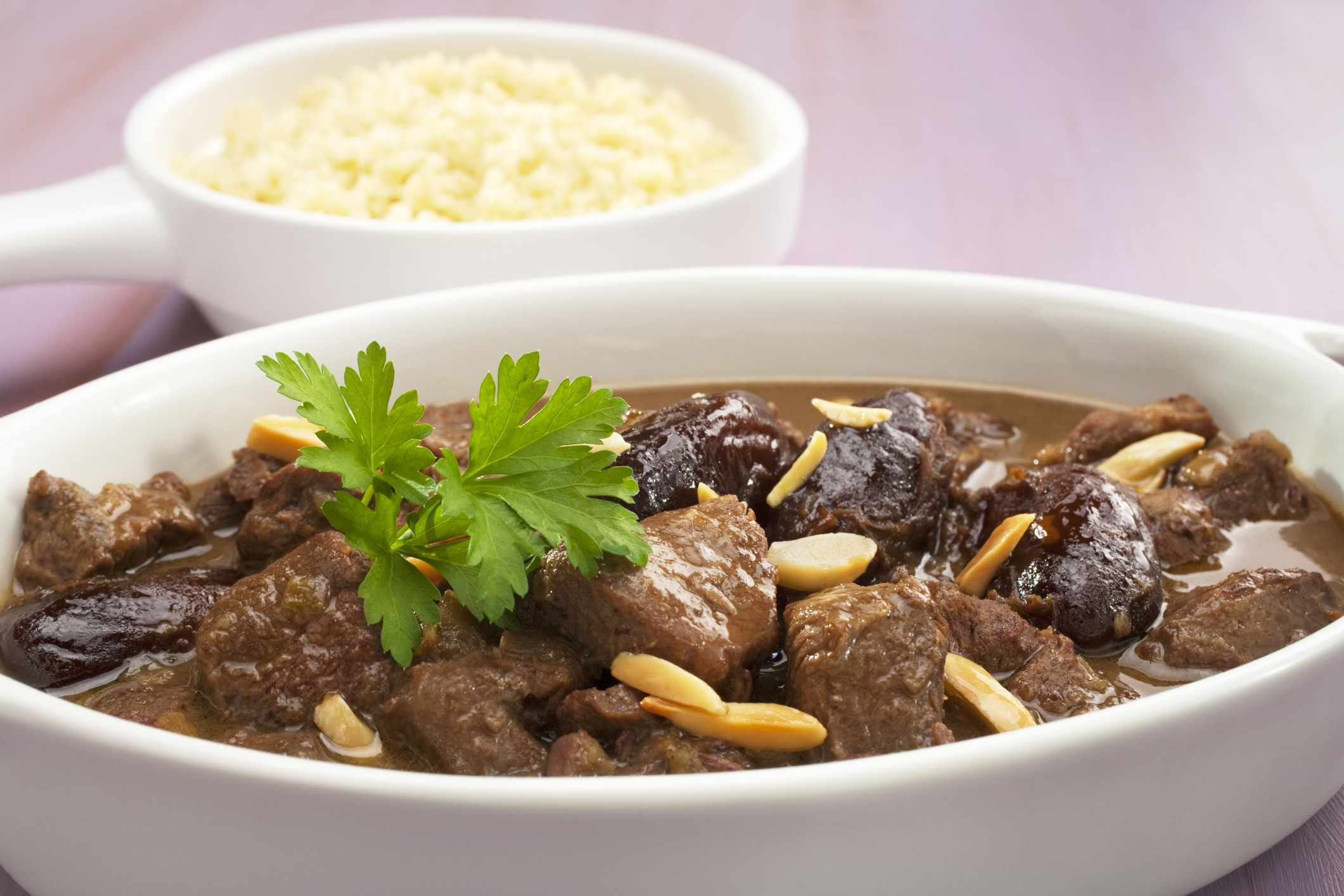 Tagine of Lamb With Dates