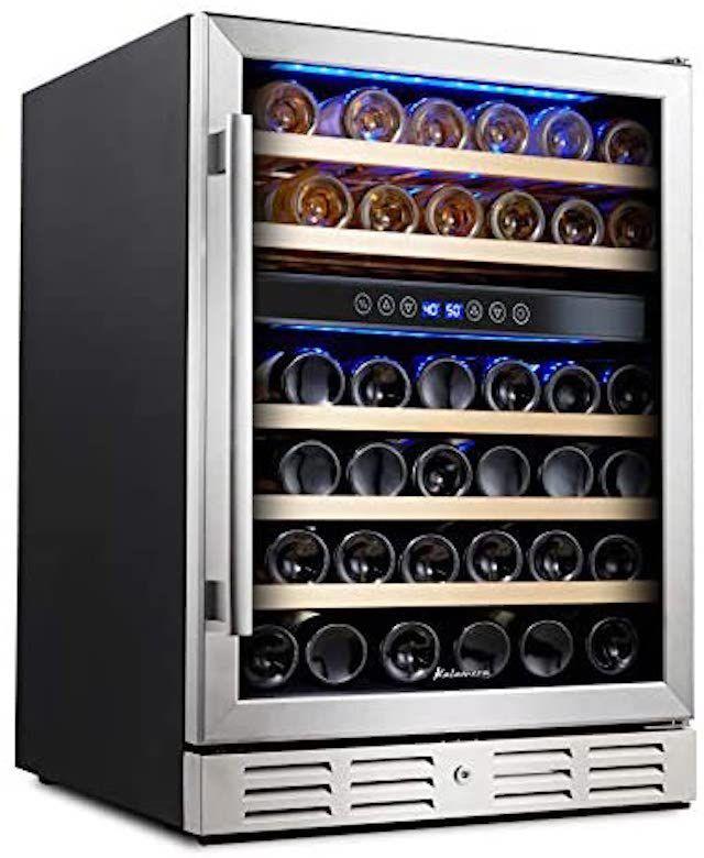 Kalamera 46-Bottle Compressor Wine Refrigerator
