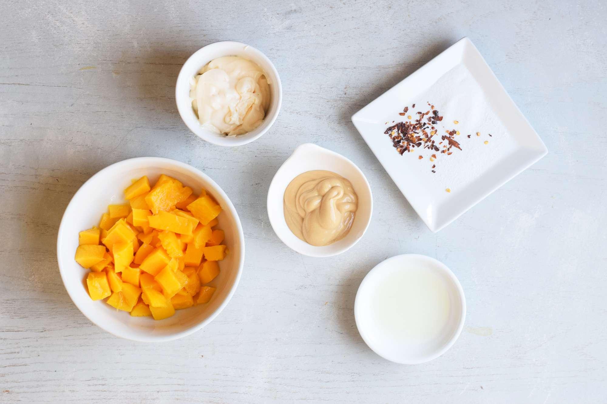 Mango mustard ingredients