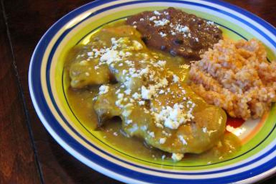 Green Chile Chicken Pollo Verde