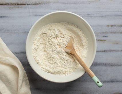 Combine flour, baking powder