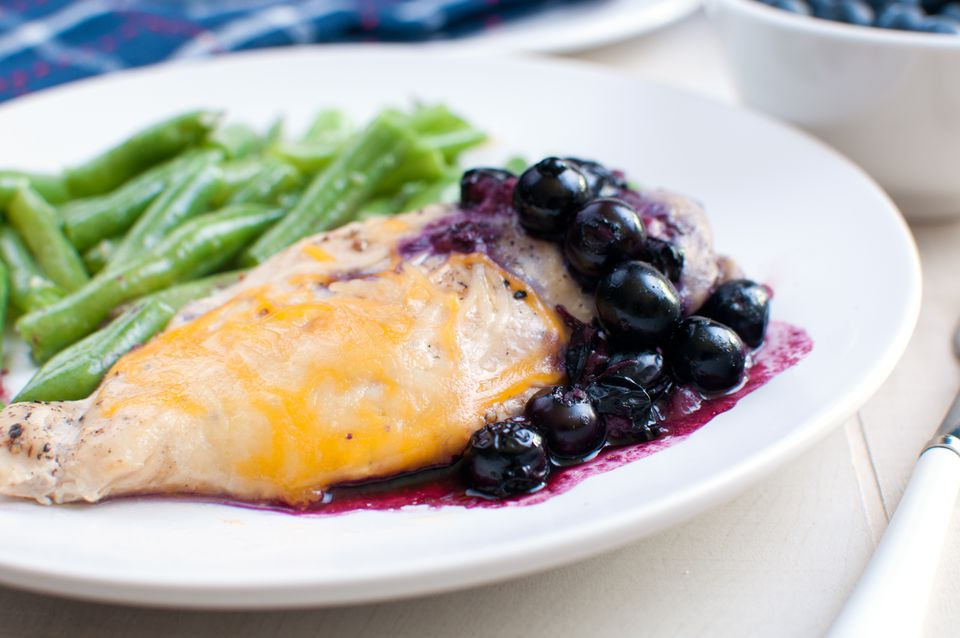 Blueberry Balsamic Chicken