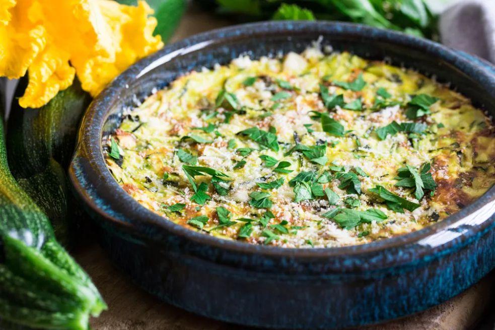 Vegetarian Breakfast Egg Casserole