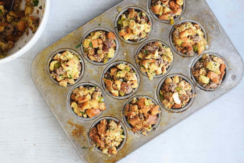 add to muffin tins