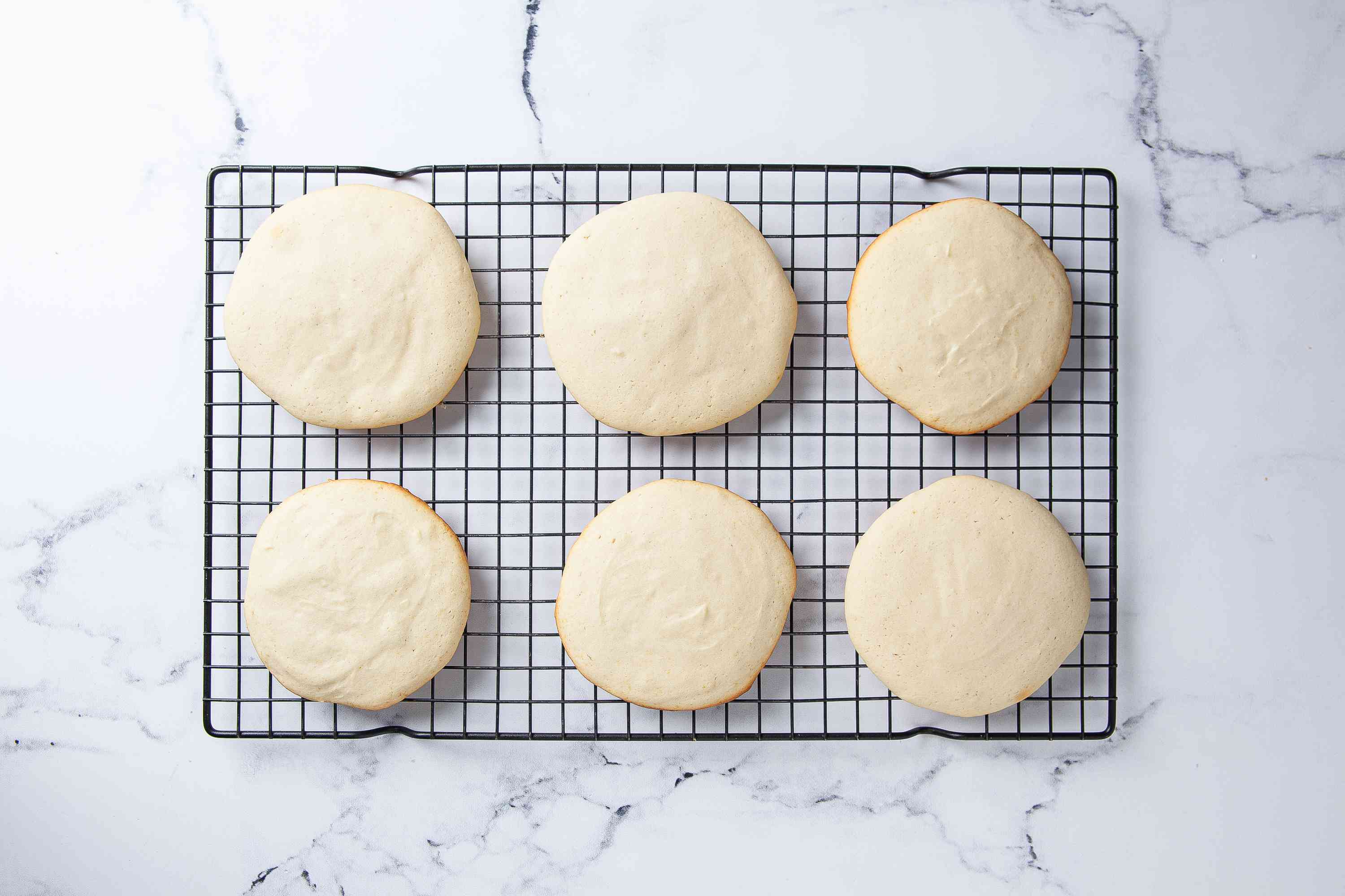 Cool the Black and White Cookies