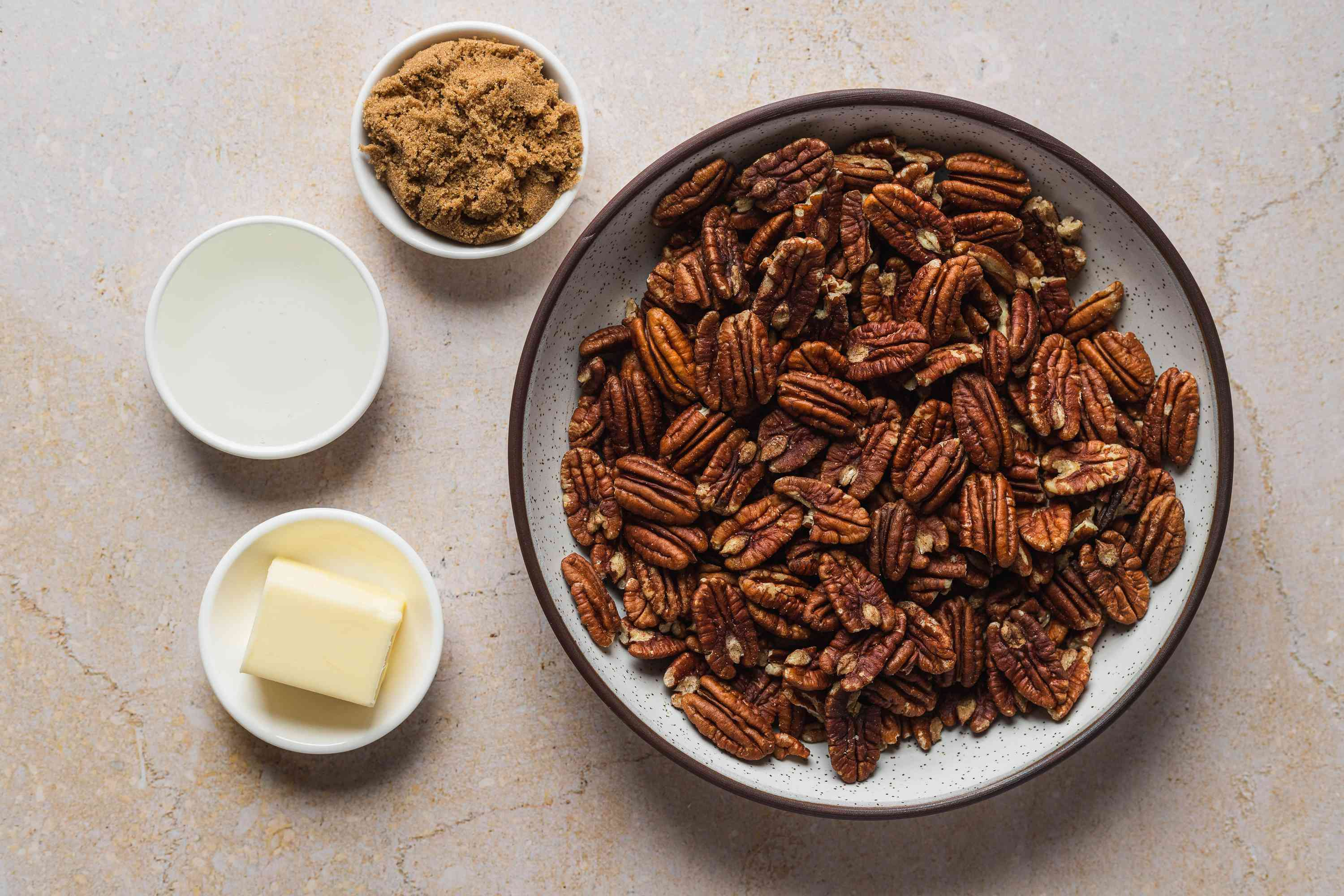 Easy Candied Pecans ingredients
