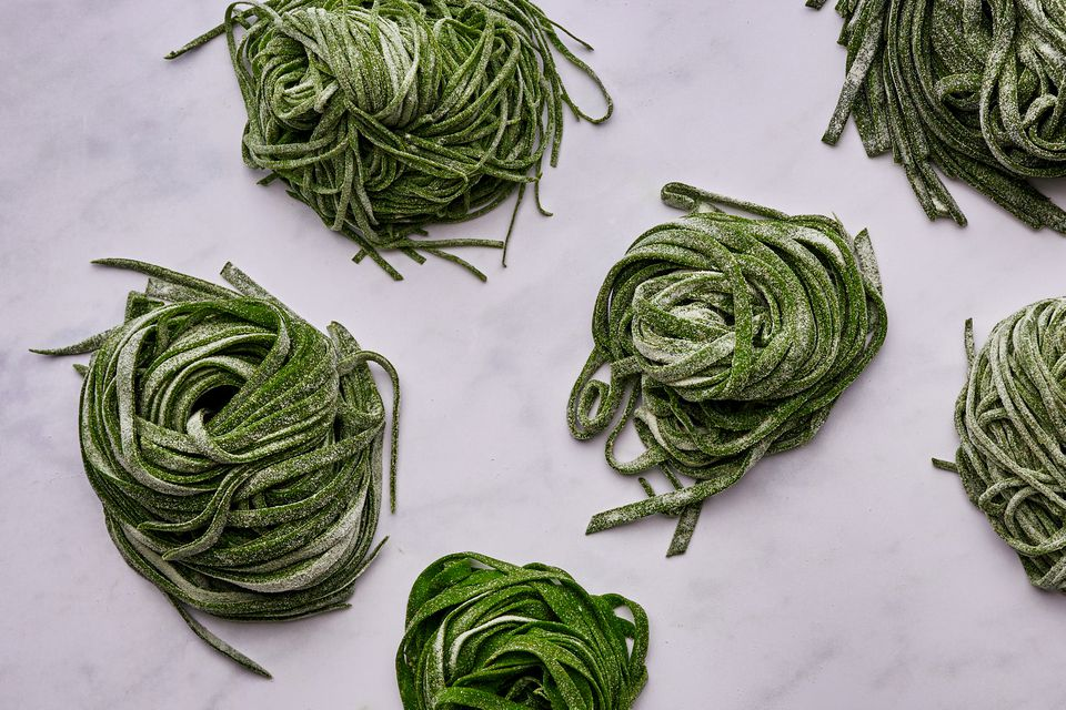 Homemade Spinach Pasta Dough