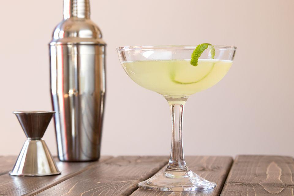 Coco Light Martini With Coconut Vodka