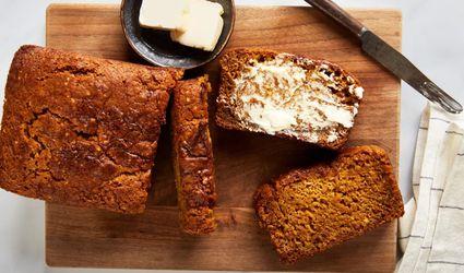 Vegan Fat-Free Pumpkin Bread