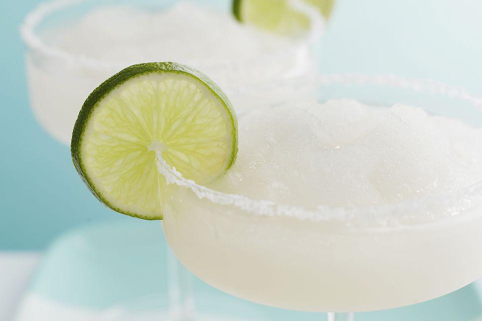 Frozen Lime Margarita Cocktail