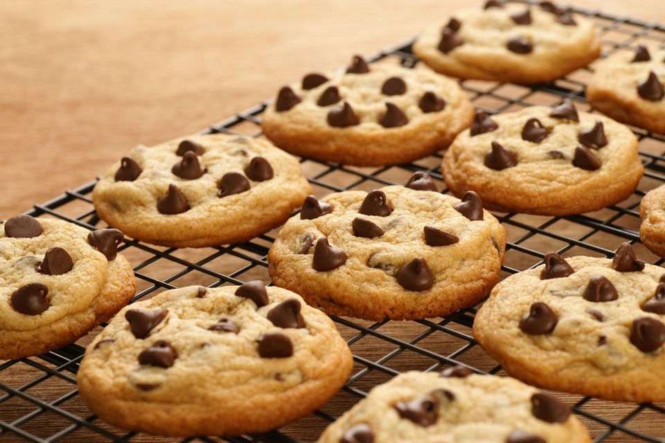 Freshly Baked Chocolate Chip Cookies