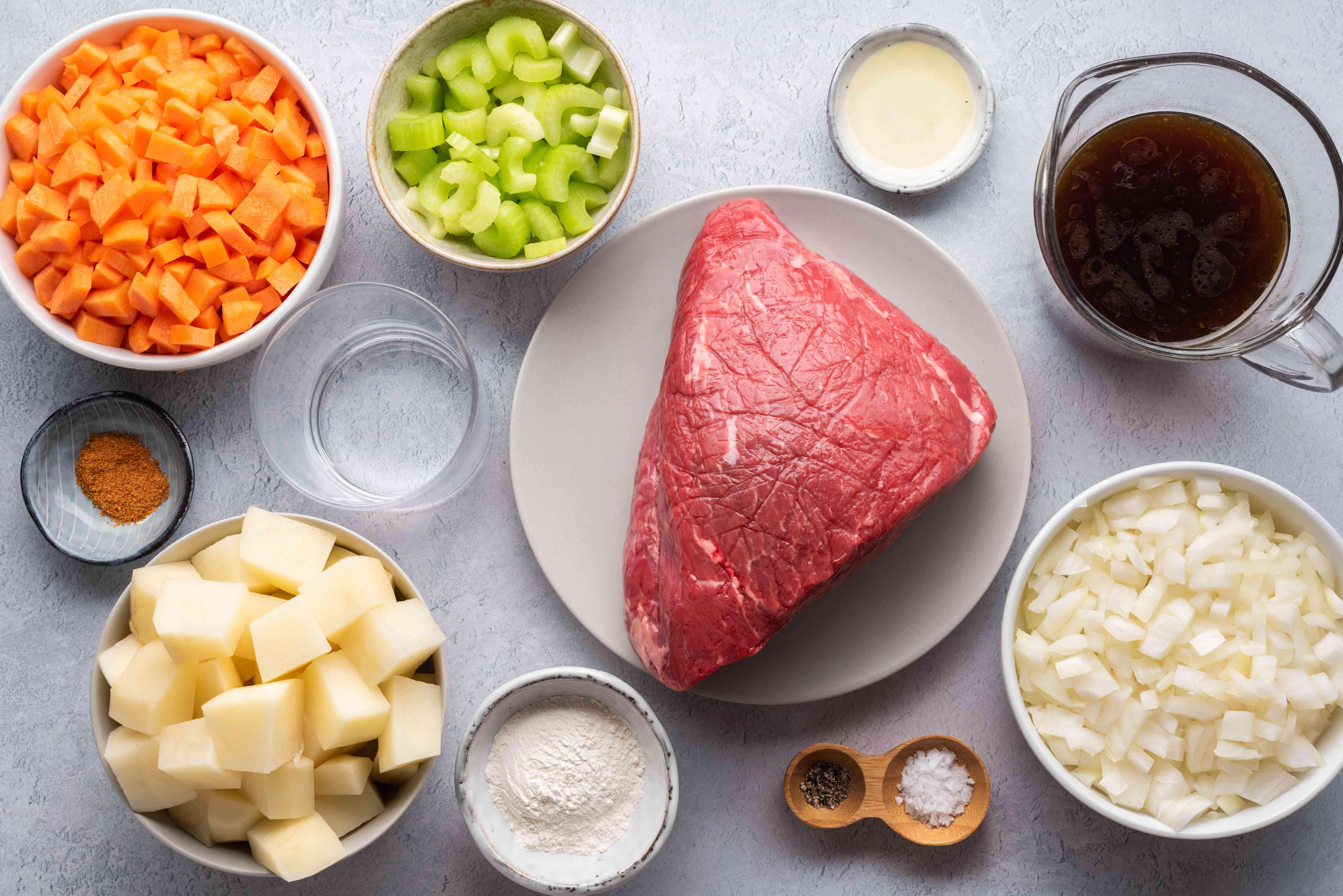 Vegetable Beef Stew ingredients