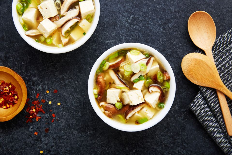 Easy garlic miso soup recipe