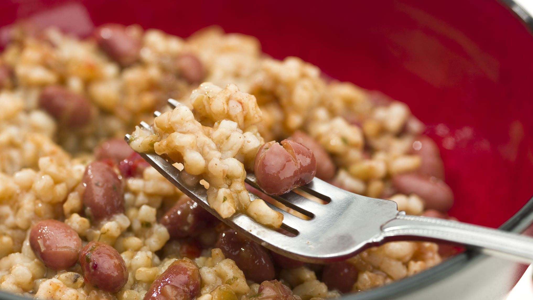 Spanish Beans And Rice Alubias Con Arroz Recipe