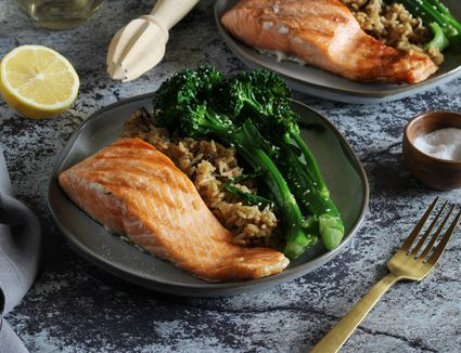 Simple grilled salmon recipe