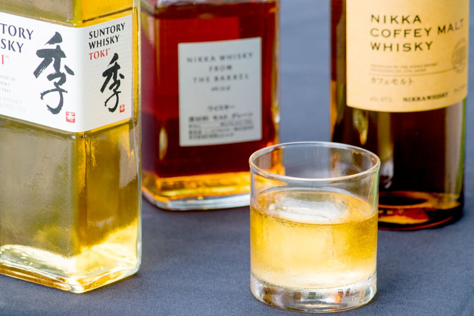 Japanese Whisky From Suntory and Nikka
