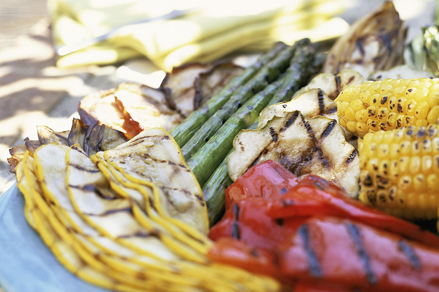 Vegetable Grilling Guide