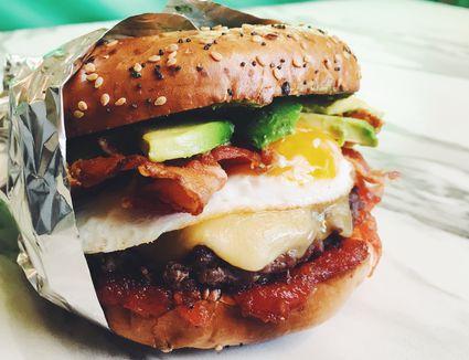 The Ultimate Breakfast Burger