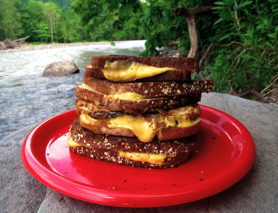 Campire Grilled Cheese