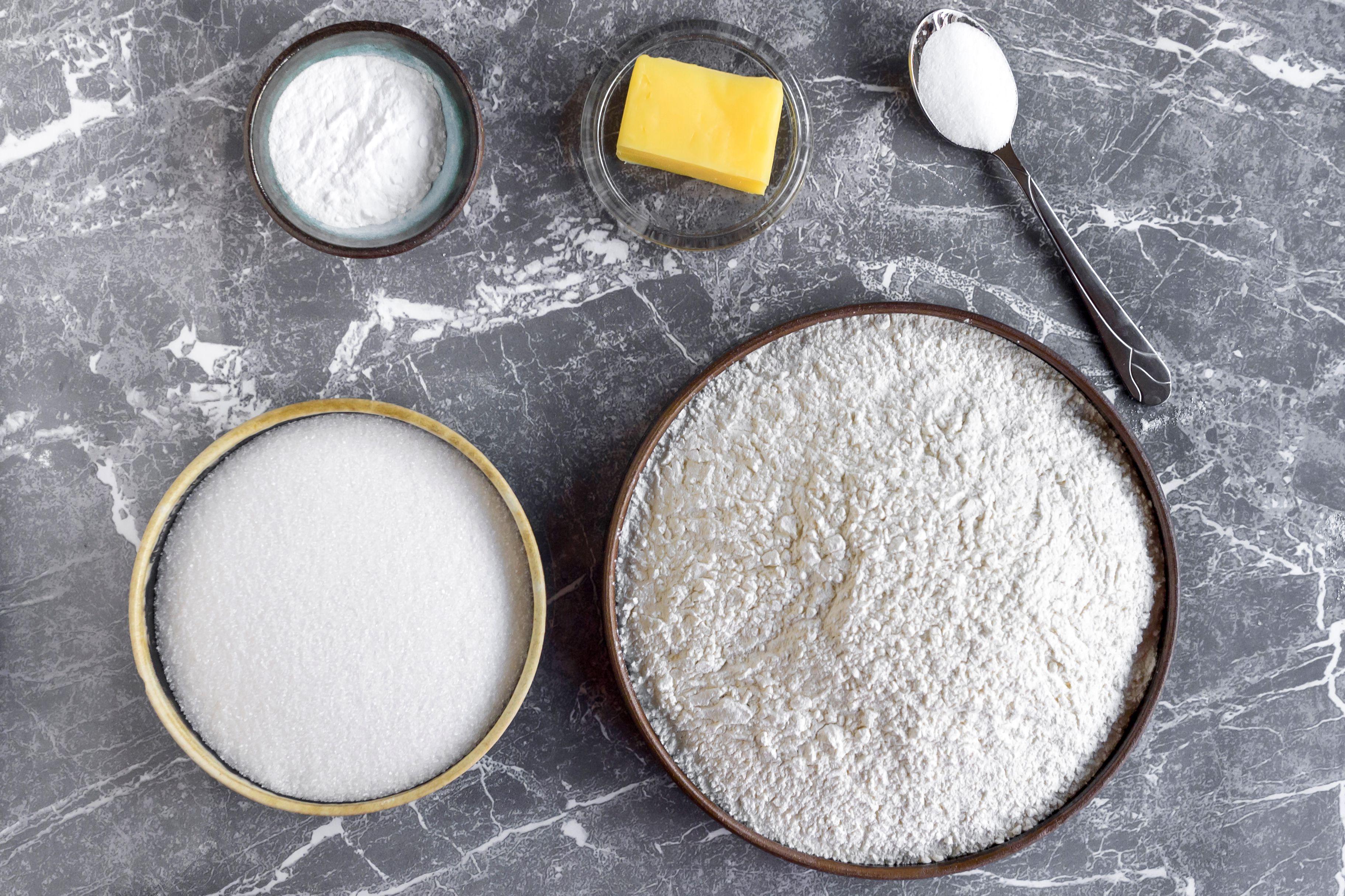 Homemade cake mix recipe ingredients