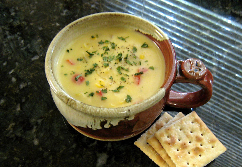 Easy Crock Pot Chicken and Corn Chowder Recipe