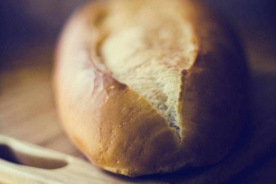 Mini pan de pan blanco