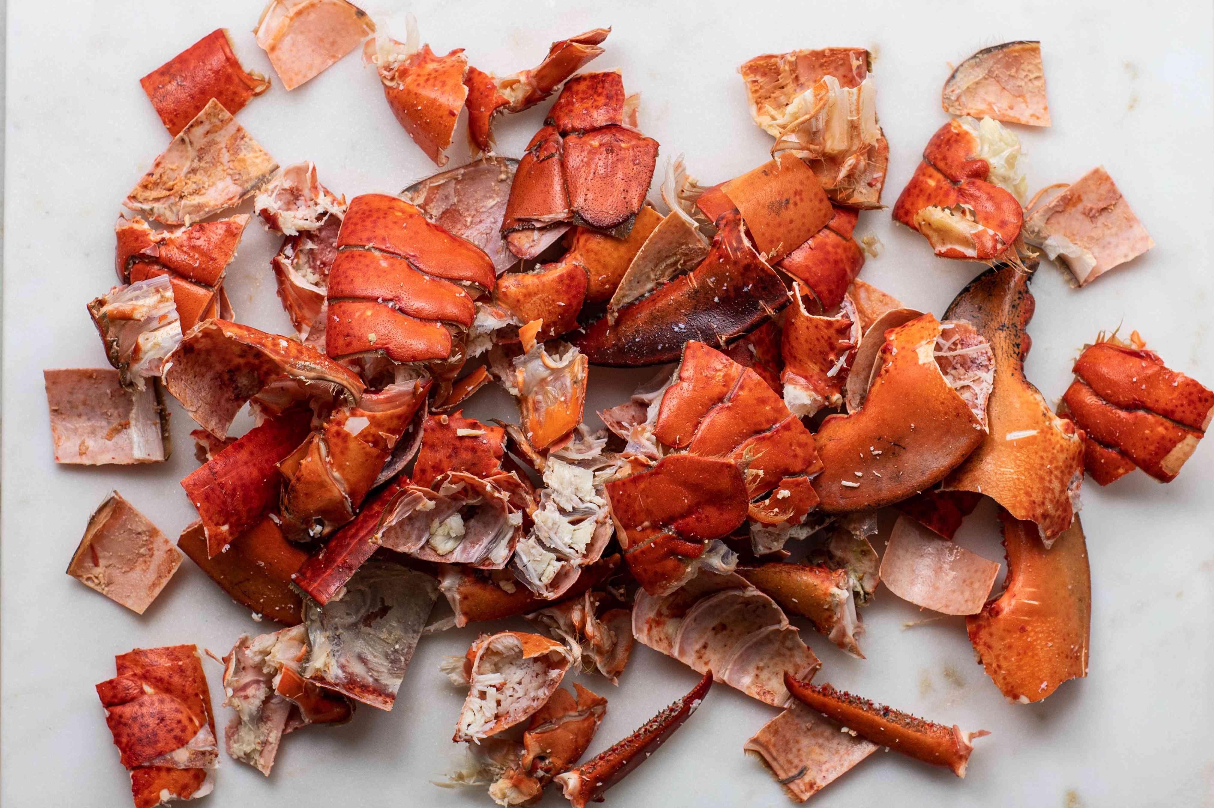 Chop lobster