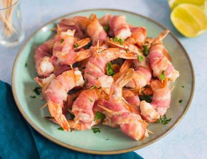 Simple bacon wrapped shrimp recipe