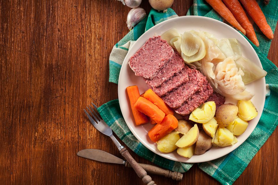 corned beef and potatoes