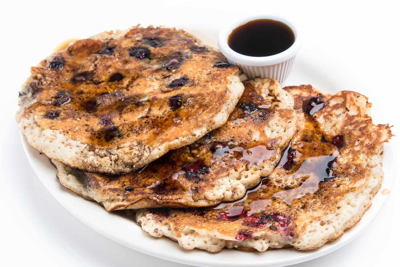 Organic Hot Pancakes (Vegan Cuisine)