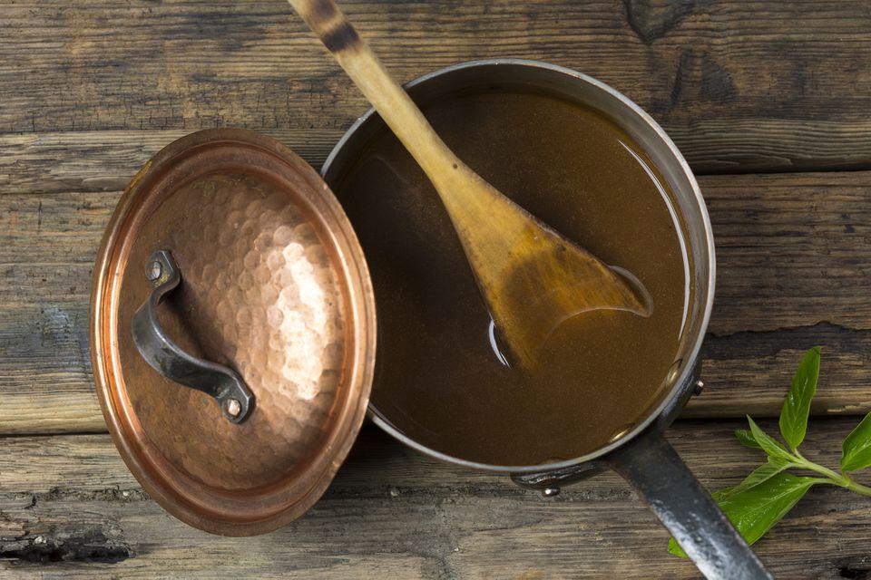 salsa de carne de res tradicional