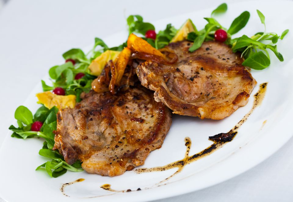 Pork Chops a la Madrilene - Spanish Pork Chops
