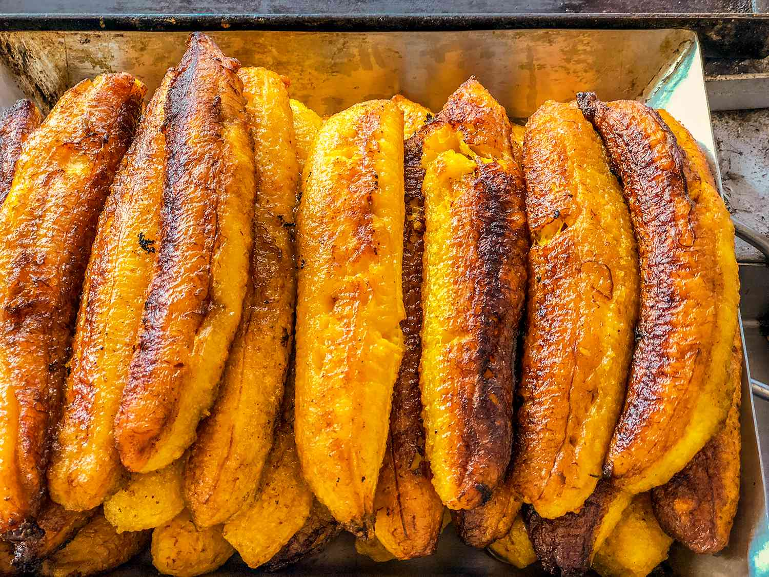Mexican sweet Fried bananas