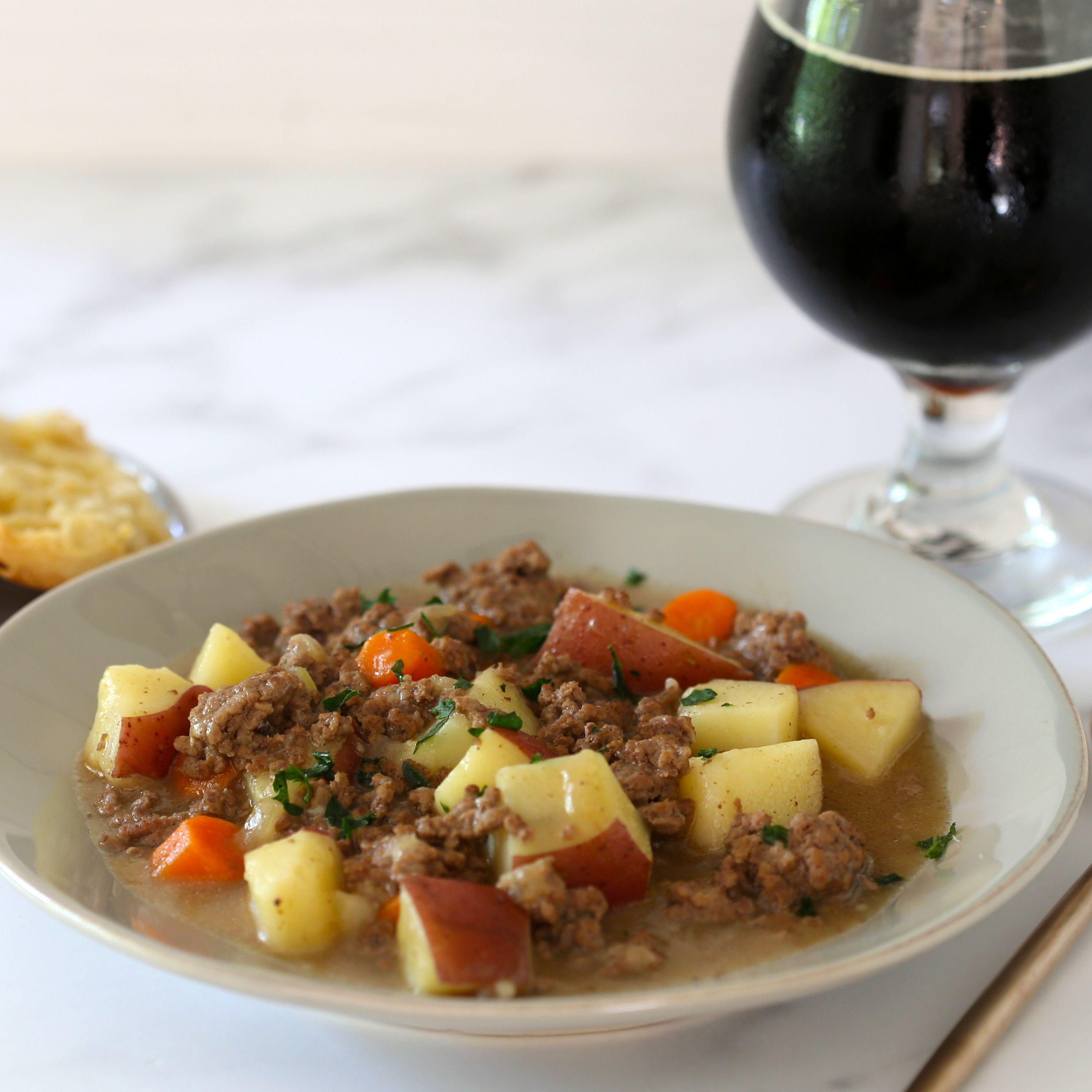 Simple Ground Beef Stew Recipe