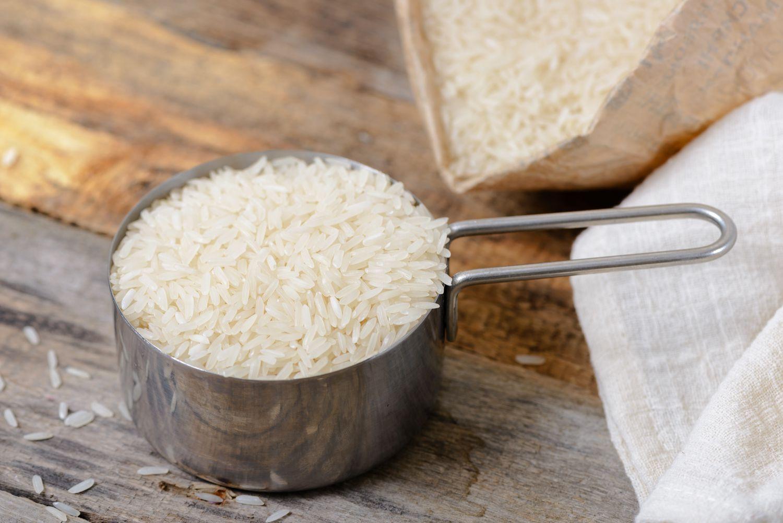how to make jasmine rice - measure