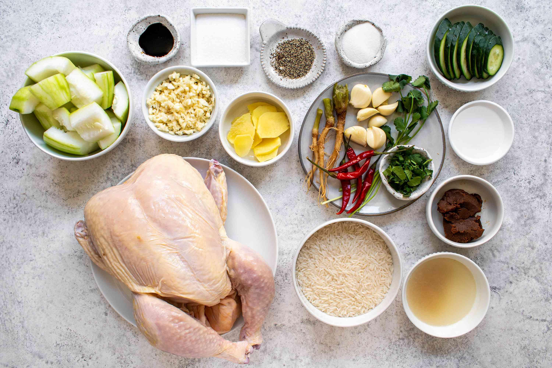 Thai Khao Man Gai ingredients