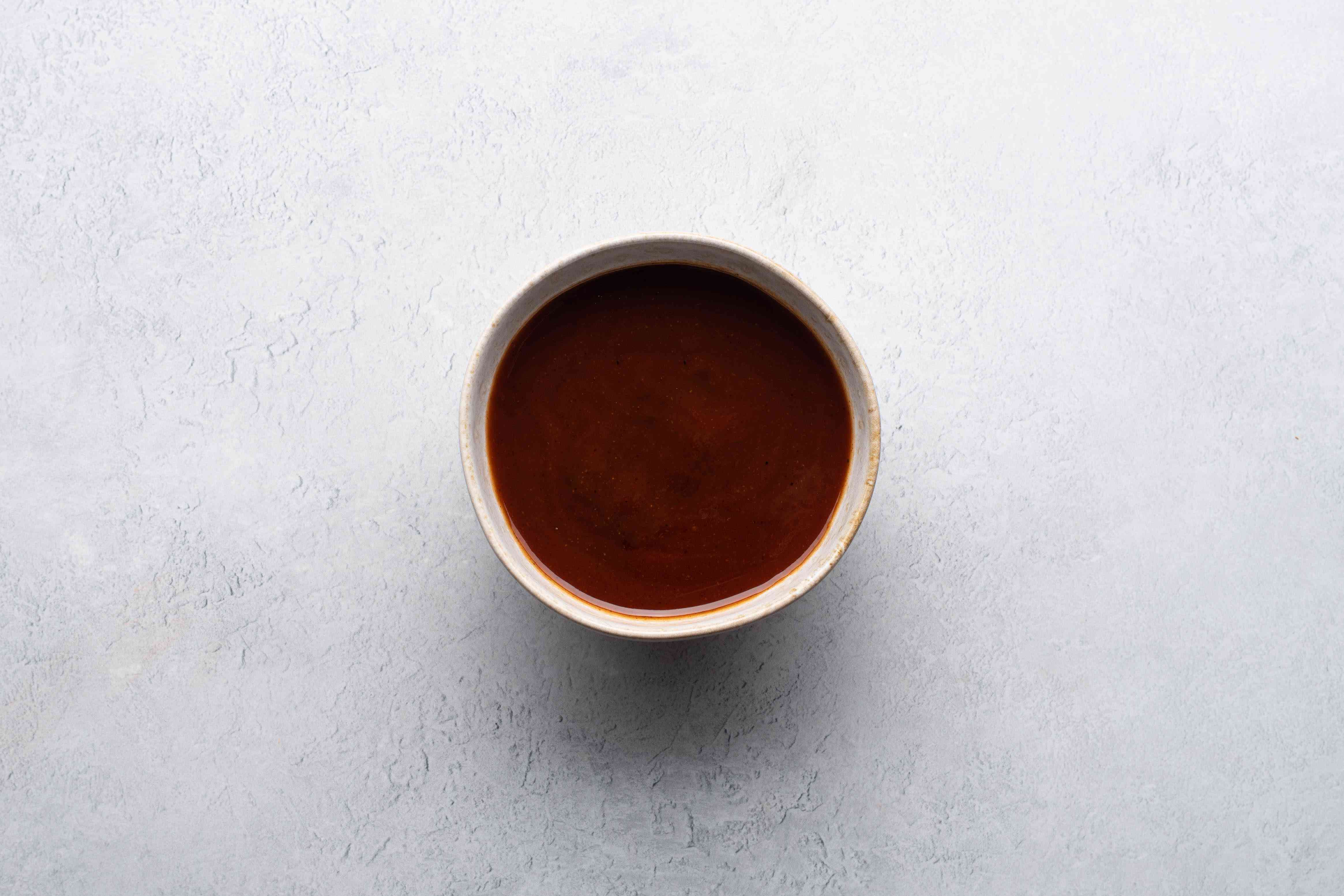 barbecue sauce in a bowl