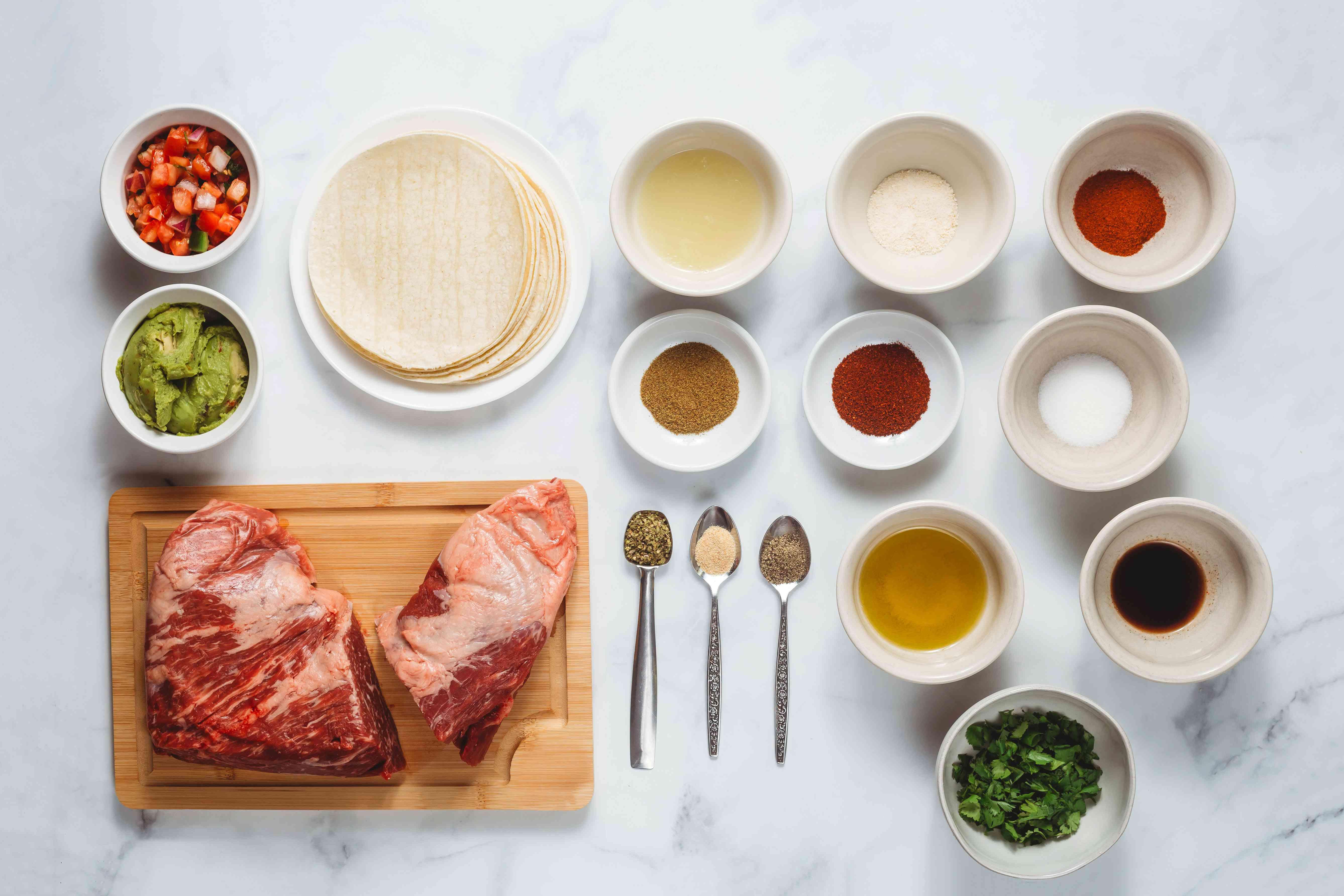 Tri-Tip Steak Tacos ingredients