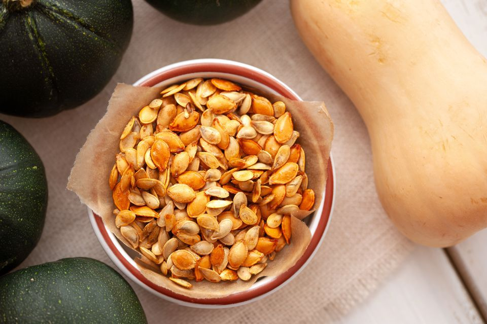 Roasted Squash Seeds (With Variations)