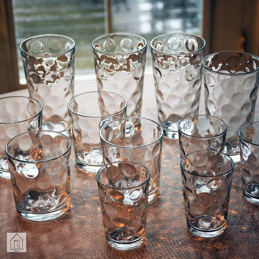 Galaxy Glassware 12-Piece Set