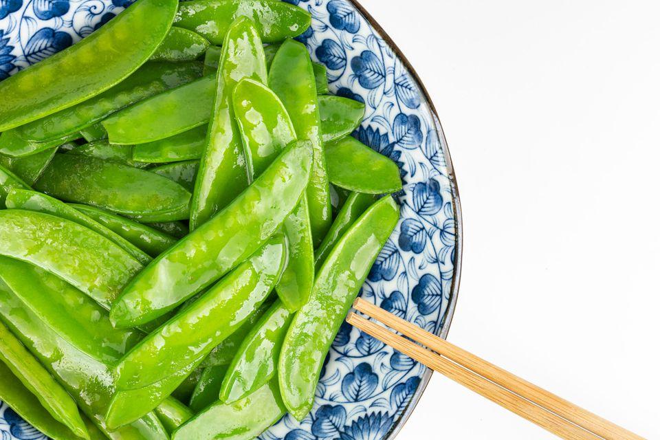 Stir Fried Snow Peas