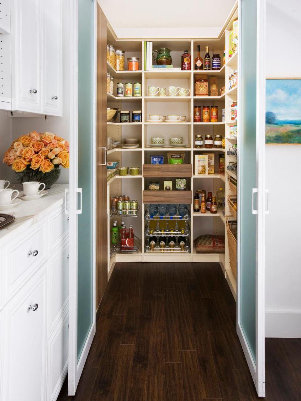 Turn a Closet Into a Pantry