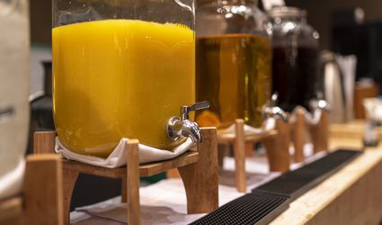 Beverage dispensers.