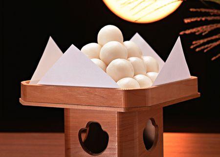 Tsukimi, Japanese Autumn Harvest Moon Festival and Food