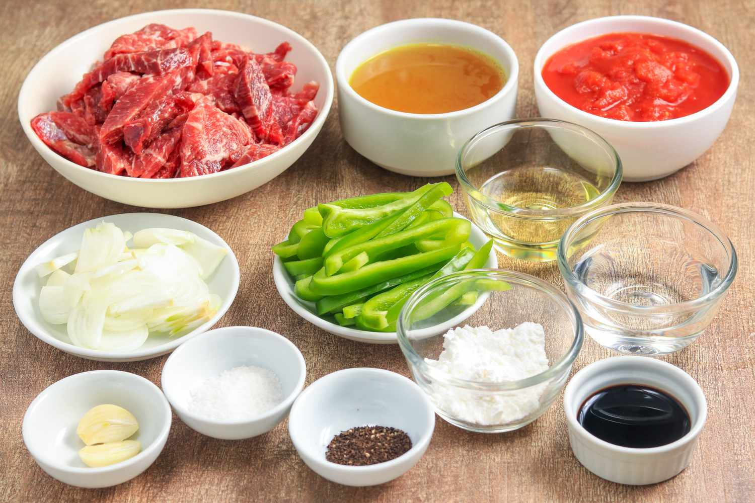 Pepper steak with sirloin tips ingredients