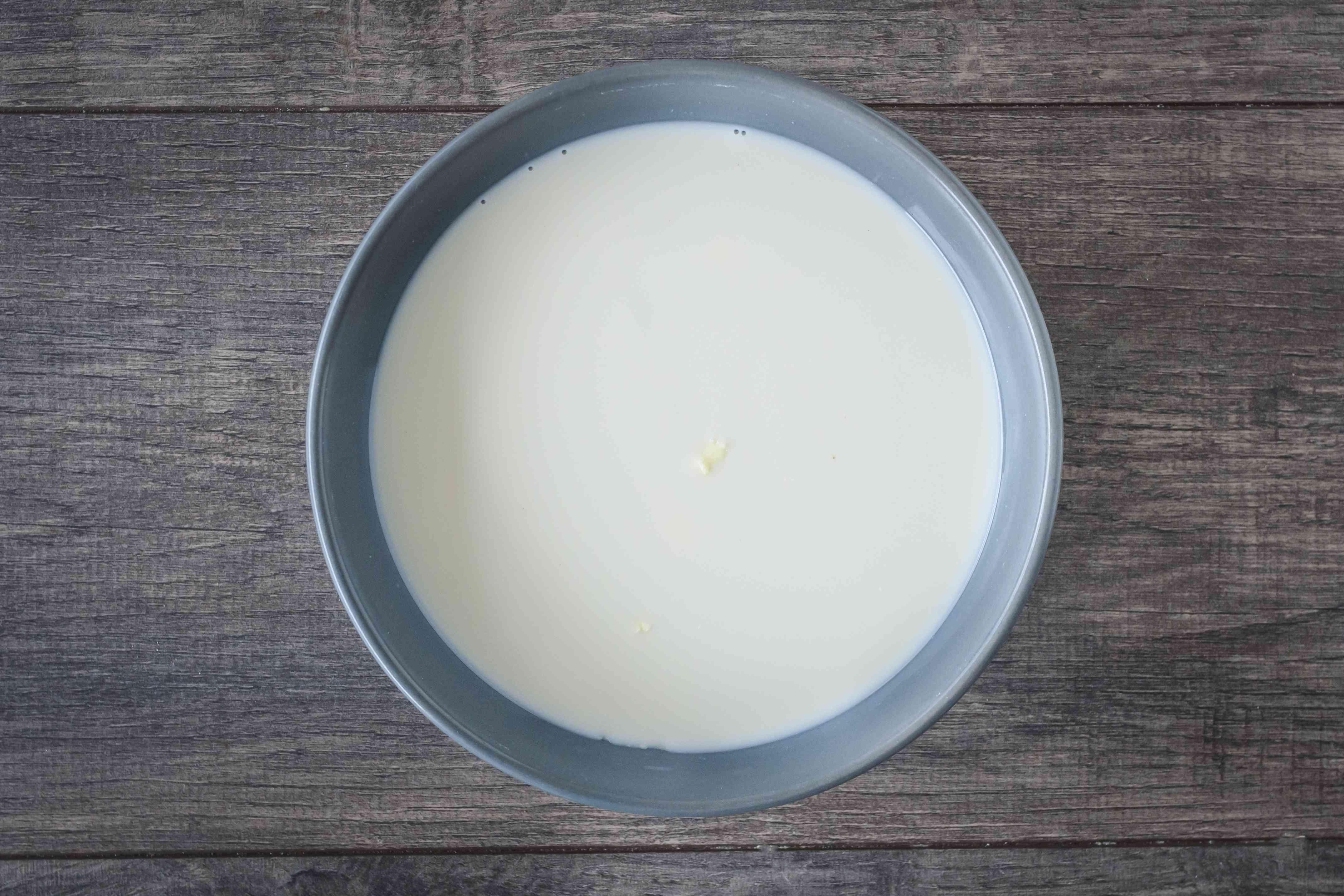 Add sweetened condensed milk