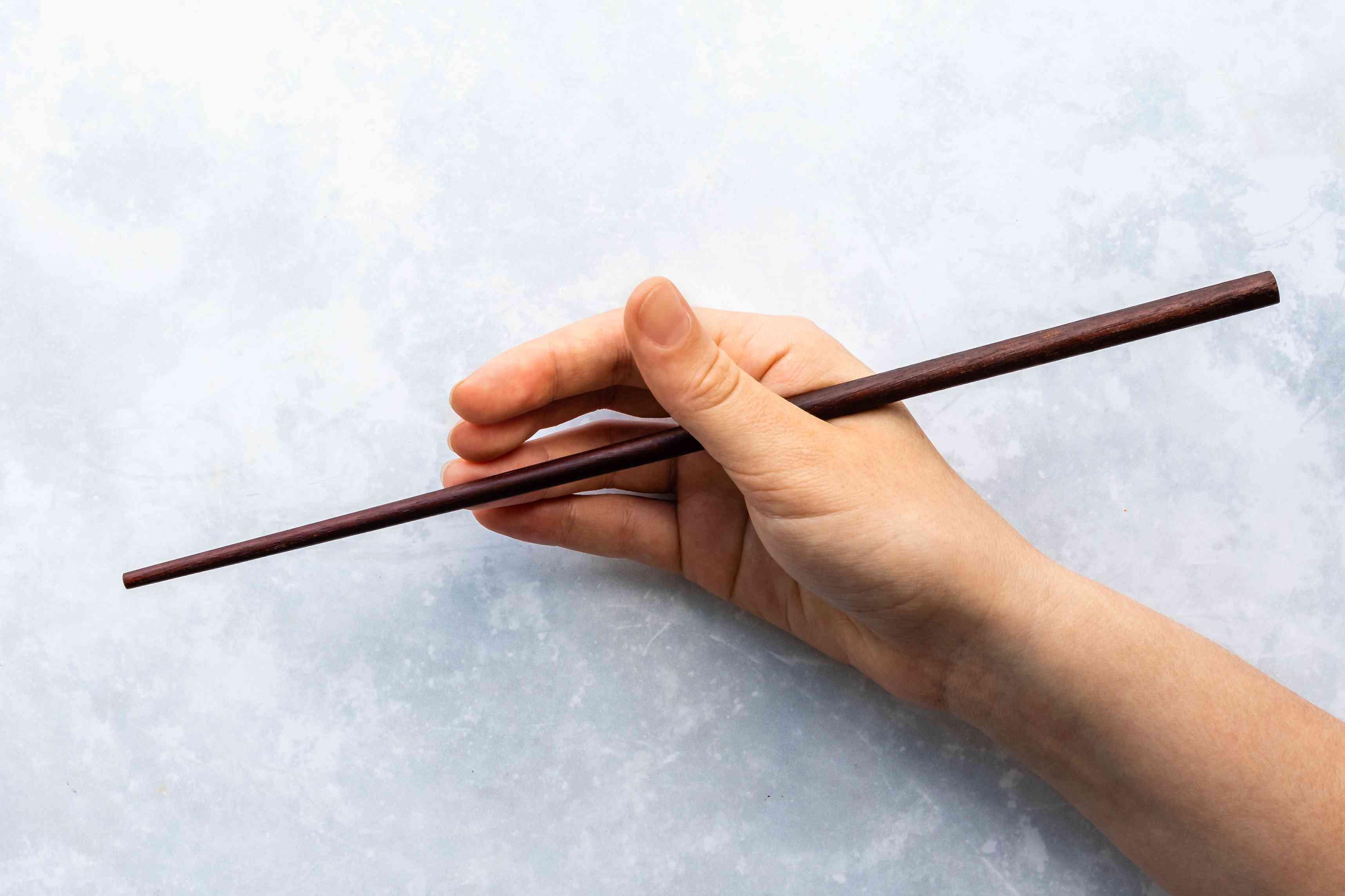 Chopstick in hand