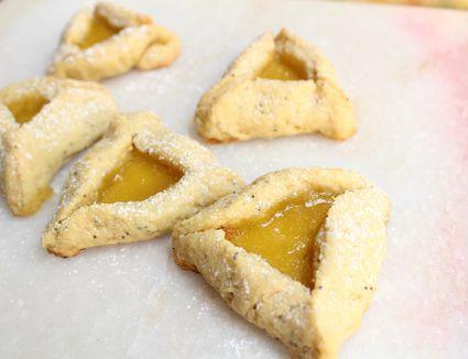 Lemon Poppyseed Hamantaschen Cookies
