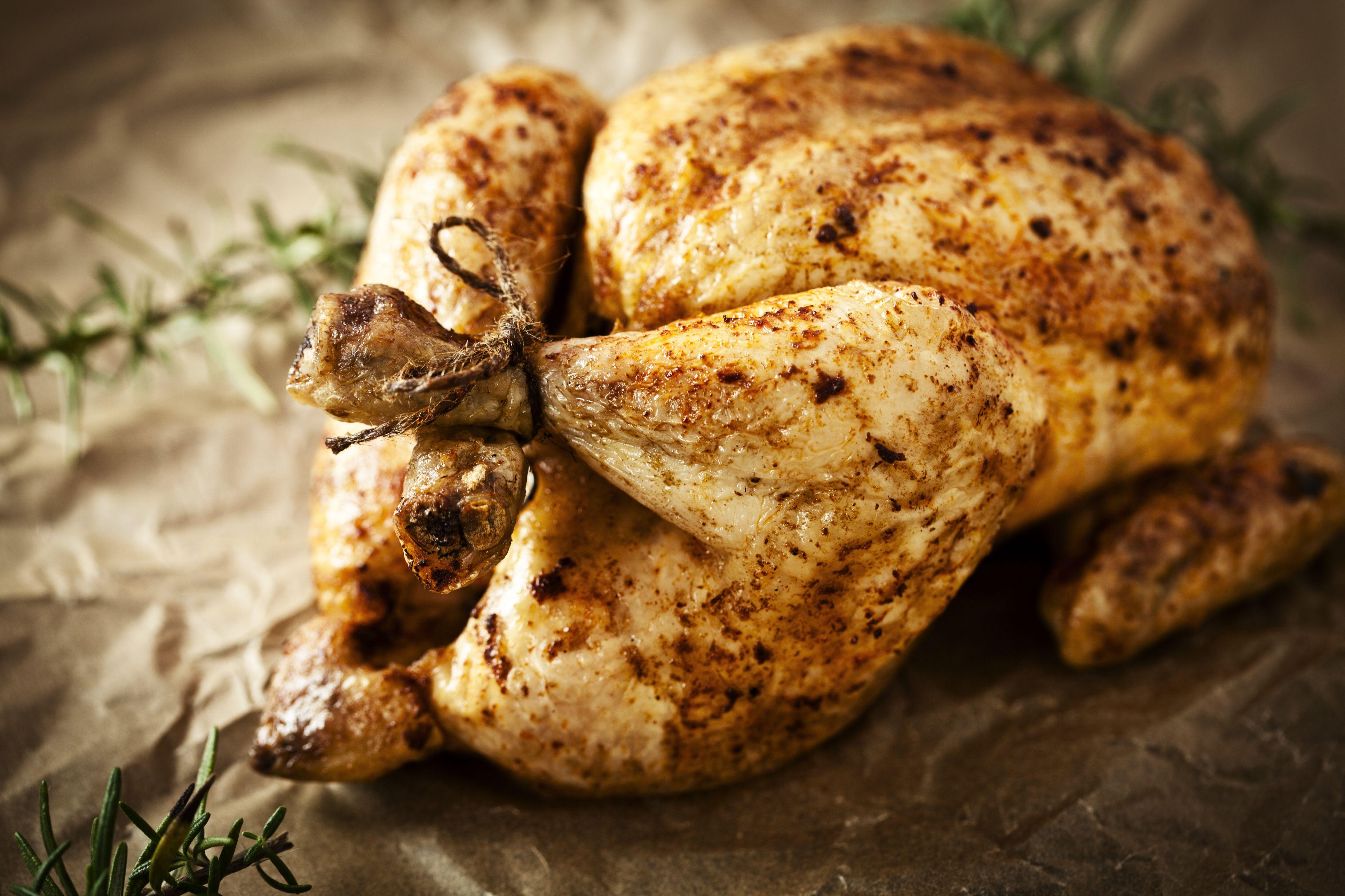 Persian Roast Chicken (Meat, Passover)